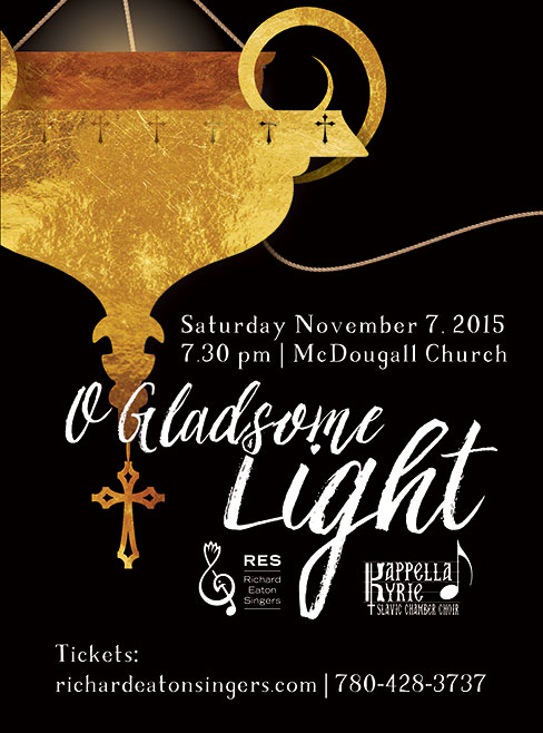 O Gladsome Light Web Poster 1